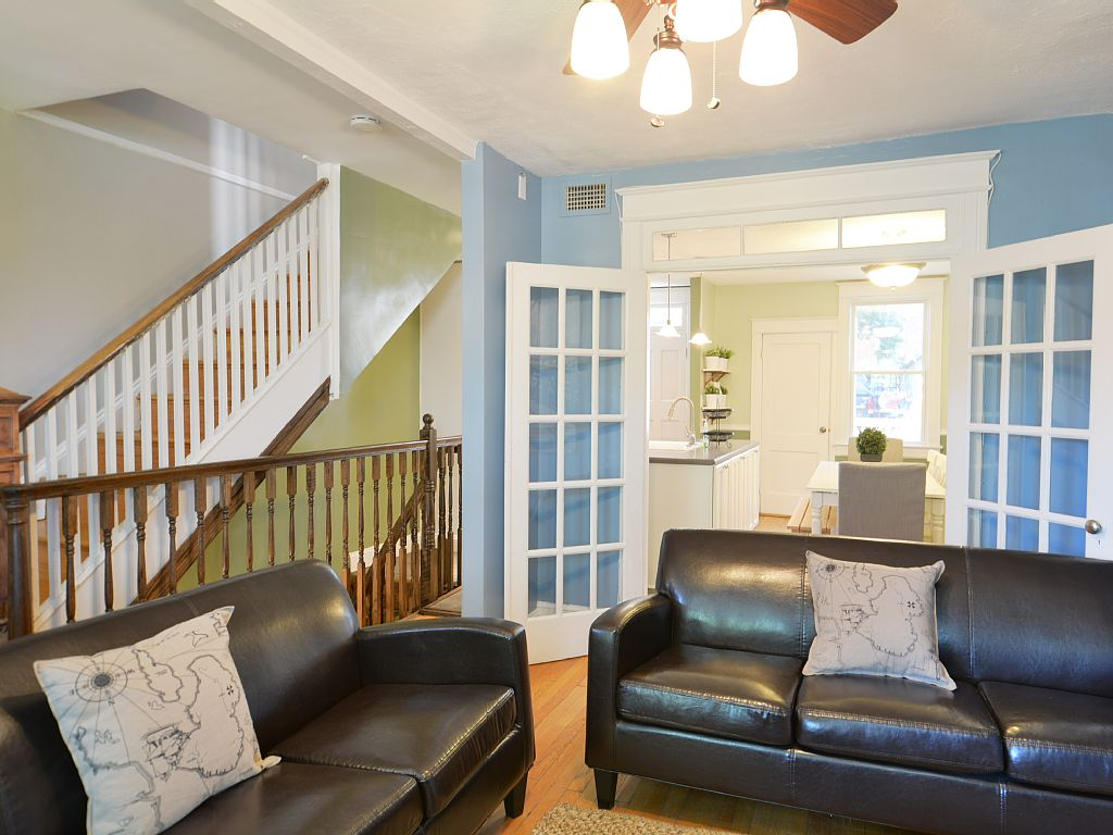 Govacation Rental Homes Full Row House Vacation Rental In Capitol Hill 4 Br 4ba Brand New