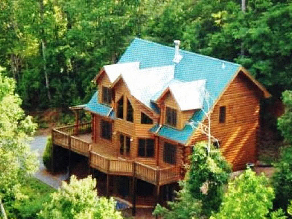 Beau Secluded Cabin W/ Spectular View